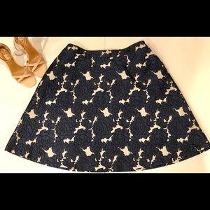Lane Bryant Floral Skirt NWT